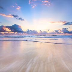East (ylvan) Tags: pink blue white beach nature sunrise canon happy dawn pastel peaceful australia calm east queensland fraser fraserisland seventyfivemilebeach 75milebeach dueeast alemdagqualityonlyclub