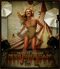 Britney Spears - Yes she can (netmen.) Tags: she stone spears circus yes can britney rolling blend netmen