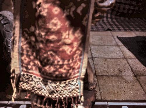 gm_01406 Bali, Tenganan, Double Ikat Fabric 1983