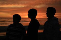 Sunset boys (Karol Franks) Tags: fall2008 beach sand ocean shore carpinteriaca google karolfranks aingworth okarol copyrighted bing sandyland california pacificocean fssummerpics copyright karolfranksgmailcom ©2014 pleasedonotuseimageswithoutmypermission ©karolfranks okarolyahoocom