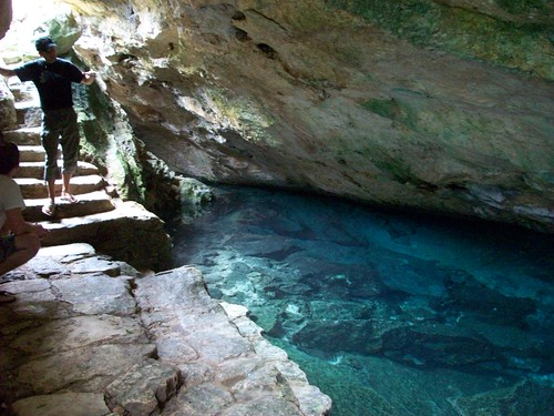 Entry of the cenote