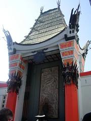 Chinese theatre in Hollywood (Mel@photo break) Tags: usa america star la losangeles theatre signature mel hollywood hollywoodblvd melinda footprint chinesetheatre chanmelmel melindachan