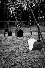 Empty (dgfrapino) Tags: blackandwhite swings highfive amateurs 24105f4l abeauty amateurshighfive invitedphotosonly