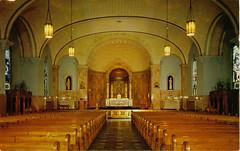 St. Augustine's interior before renovation ~courtesy St. Augutine's of Hippo