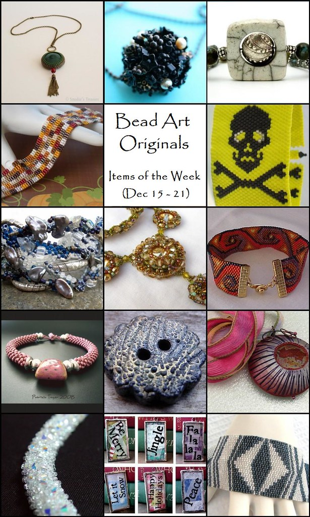 Bead Art Originals Items of the Week (12/15-12/21)