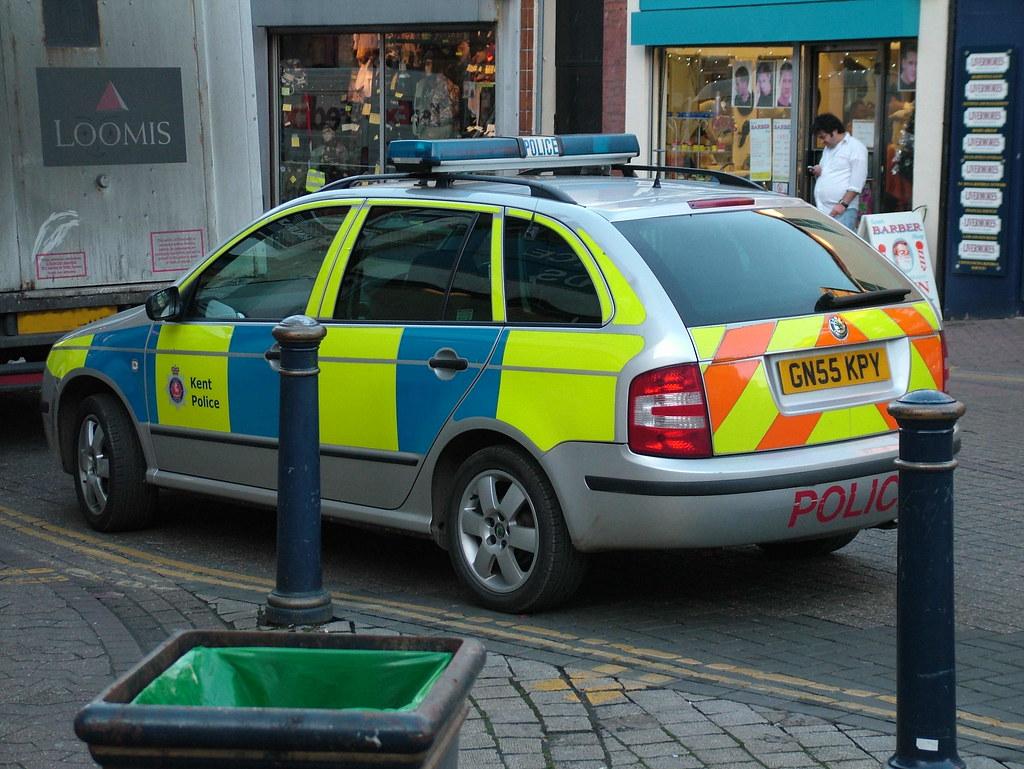 Kent Police Skoda