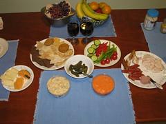Friday night feast (librarychik) Tags: bc britishcolumbia sointula malcolmisland