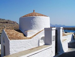 Lindos church (Nereika) Tags: church island kirche greece griechenland lindos rhodos