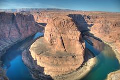 Horseshoe Bend (wenzday01) Tags: travel arizona nature river landscape nikon colorado topc50 az page coloradoriver nikkor hdr horseshoebend d90 automatix nikond90 platinumheartaward 18105mmf3556gedafsvrdx
