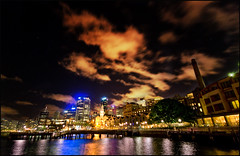 The cove in the nite (manlio_k) Tags: reflection night cove sydney sigma australia 1020mm hdr manlio castagna photomatix tonemapped tonemap manliocastagna manliok