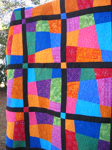 Show-n-Tell: Crazy 9-patch quilt | Welcome to the Homesteading ... : crazy nine patch quilt - Adamdwight.com