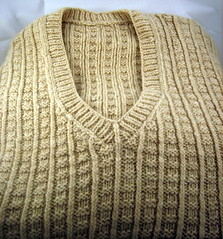 Griffie/Willow Vest (themightyoracle) Tags: alpaca knitting vest rambouillet