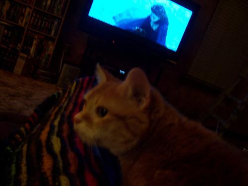 Sif Watching TV 04