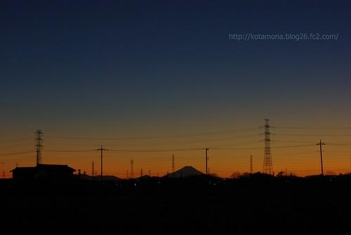 富士山 in SAITAMA