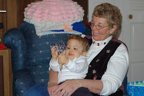 Grandma and Noah.