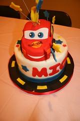 Cars Cake (irresistibledesserts) Tags: cars cake lightningmcqueen