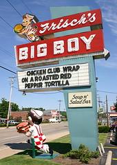 Frisch's Big Boy (greenthumb_38) Tags: ohio 2004 marquee neon cincinnati roadtrip signage neonsign roadside bigboy frischs burgerjoint bobsbigboy frischsbigboy sweetsign