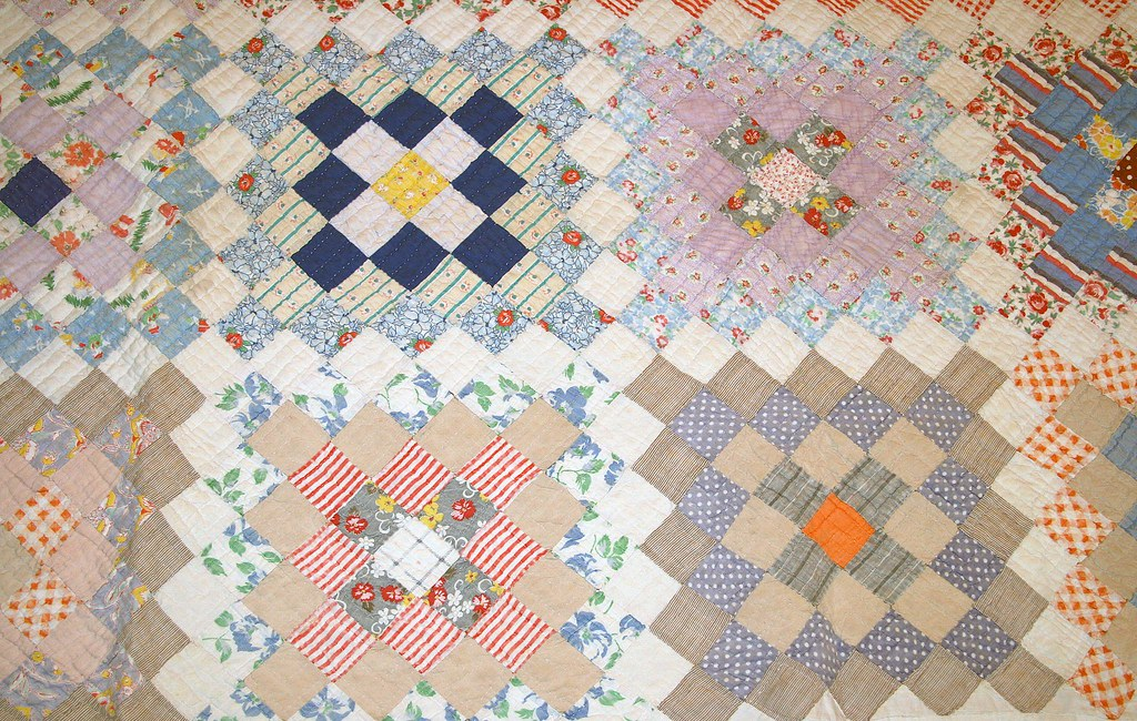 Great Grandma's Quilt -- Diamonds Squared