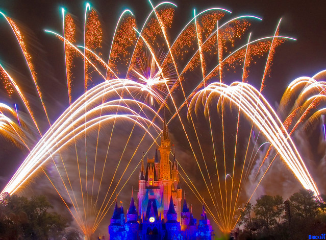 Walt Disney World's Wishes! Fireworks