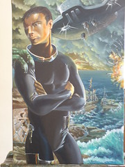 Il capitano (runkirya) Tags: mare colore arte guerra fantasy scifi alieni acrilico tecnica pittura illustrazione