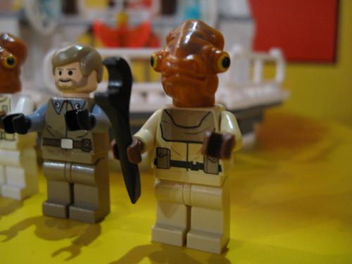 LEGO Star Wars 7754 - Mon Calamari Star Cruiser