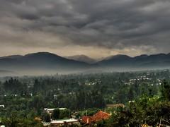SANTIAGO ORIENTE HDR (Pablo C.M || BANCOIMAGENES.CL) Tags: chile santiago rain clouds lluvia day cloudy nubes tormenta lascondes bancoimagenes