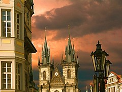 Czech Republic Prague Prag Praha (doc.holiday41) Tags: trip travel vacation church fun europa europe republic czech prague kirche prag praha tschechien viagem altstadt oldtown ferien tyn ferias reise blueribbonwinner inspiredbylove hccity artistictreasurechest lovely~lovelyphoto expressyourselfaward