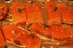 3423568398 c9060e5694 m Tagliatelle with Salmon & Crispy Goat Cheese