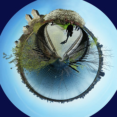 Planet Central Park (Depth of Life MWW) Tags: nyc panorama newyork circle centralpark sphere planet polarized