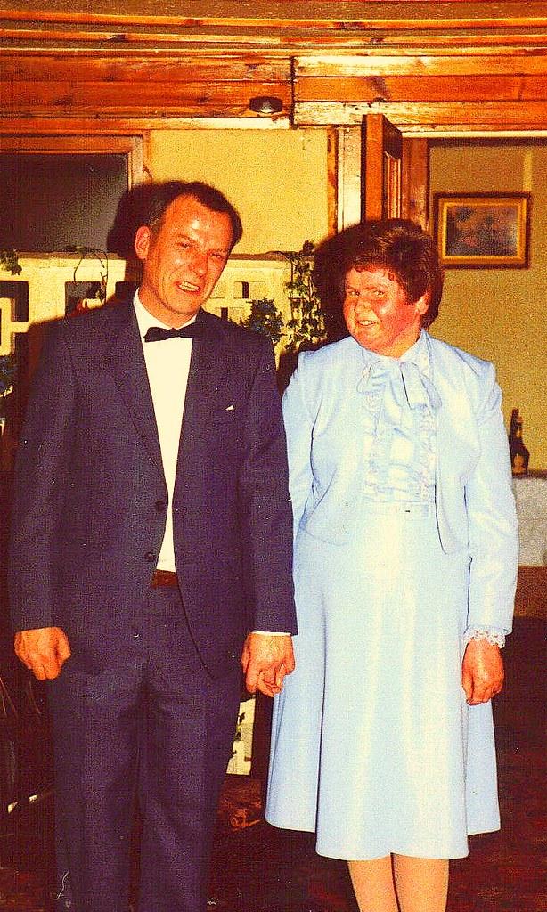 silver wedding, Georgie and Brian