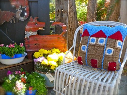 Granny Flats Cushion