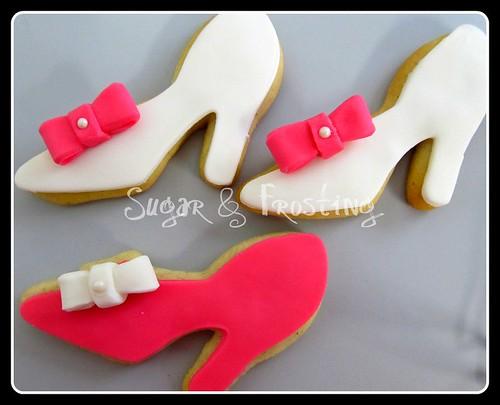 High Heel Shoe Cookies