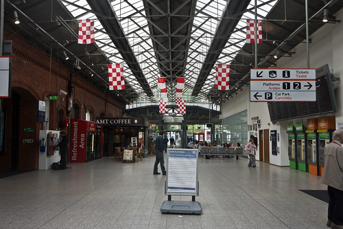 Kent Station is an Iarnród Éireann train station in Cork