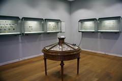 the numismatic exhibit in San Marino's State Museum