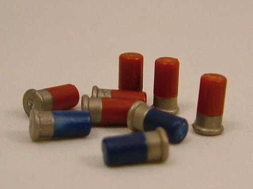 Custom minifig BrickArms Overmolded Shotgun Shells