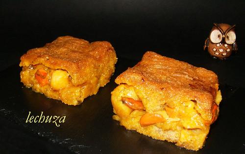 Empanada maiz de zamburiñas-porcion