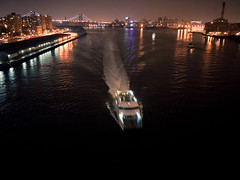2011.06.09 (ekonon) Tags: nyc night boat published manhattanbridge eastriver gothamist curbed sonofoneaday soepd