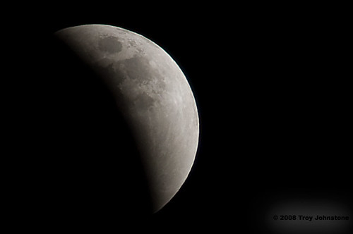 Lunar Eclipse - Approaching Totality