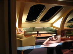 Star Trek Tour (psionicnimue) Tags: startrek queenmary longbeach captainpicard