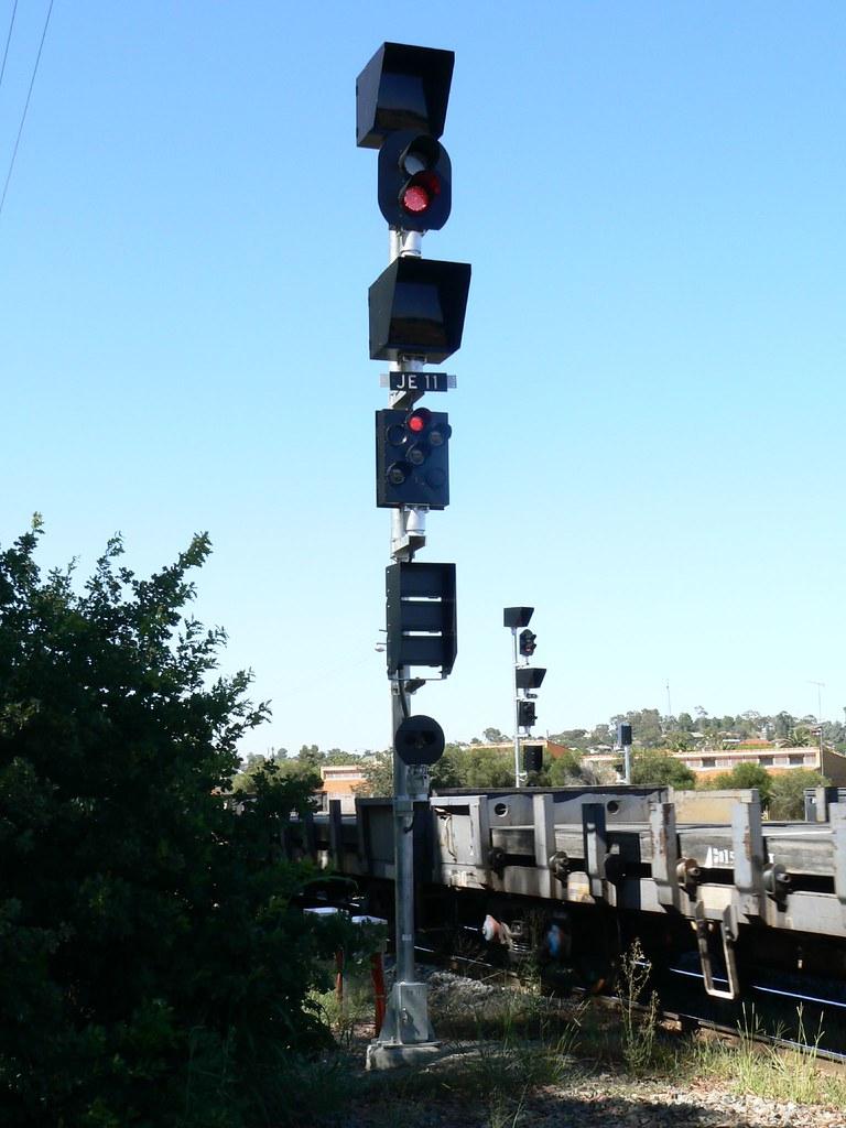 single light colour light signal
