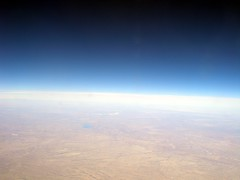 The Thin Atmosphere (JoWiJo) Tags: travel blue sky clouds altitude air atmosphere ground aerial southwestairlines somethingblueinmylife