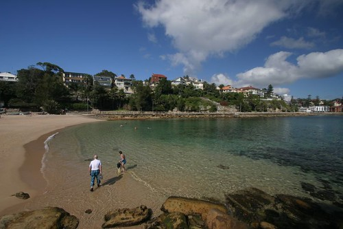Shelly Beach, near Manly.
