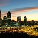 Perth Sunrise from Kings Park © rosswebsdale