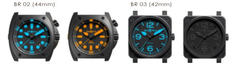 bell and ross limited production