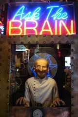Ask the Brain (Kristina_5) Tags: museum mechanical michigan oddities marvelous fortunetellers marvins marvinsmarvelousmechanicalmuseum askthebrain coinoperatedmachines weirdmichigan michiganoddites