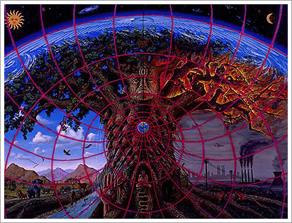 alex greay gaia painting 1989