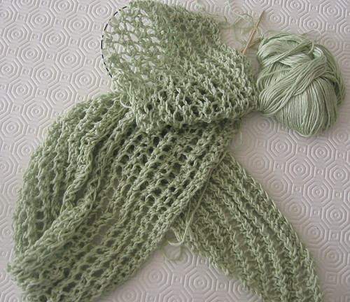 Bamboo Lacy Scarf