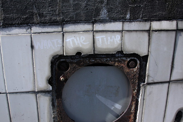 whats the time (Arthur St. Tunnel)
