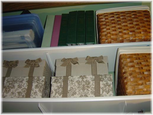 Desk Organization: Top Shelf