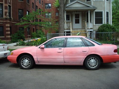 Blushing car